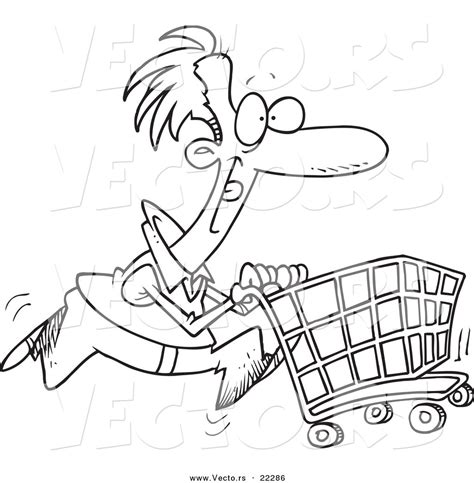 Shopping Basket Coloring Page Shopping Cart Coloring Page