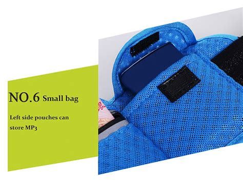 Dhavin Distro Bag Navy tanluhu fashion outdoor sports mobile phone cycling personal waist bag in navy blue