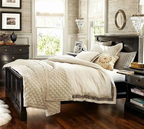 pottery barn bedroom ideas pottery ideas pottery and black furniture on pinterest