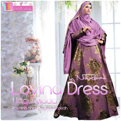 Gamis Terbaru Osd Lovina Dress By Nitha Rahadi Syari Dress Oki Setiana Dewi