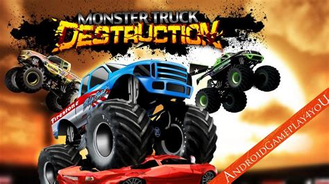 monster truck destruction kids monster truck destruction android hd gameplay 1 game