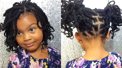 natural hair kids style  hair nubian twistkinky twist protective style supa natural youtube