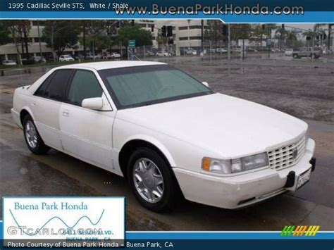 White 1995 Cadillac Seville Sts White 1995 Cadillac Seville Sts Shale Interior