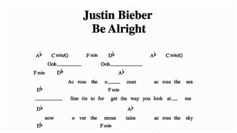 justin bieber it s gonna be alright mp3 justin bieber be alright guitar chords youtube