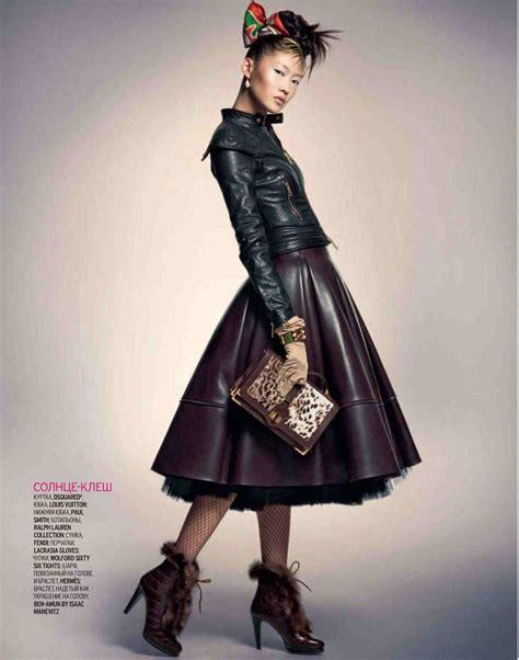 Fashion Leather leather skirts hey