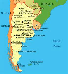 map of patagonia south america south america