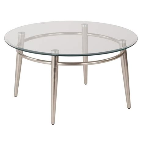Tempered Glass Coffee Table Tempered Glass Top Coffee Table In Silver Mg1230r Nb