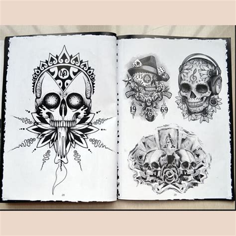 tattoo flash art supplies aliexpress com buy hot sale 76 pages a4 sketch selected