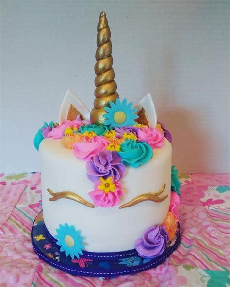 More Whimsical Cakes To Impress by Whimsical Unicorn Cake Dessert Unicorns