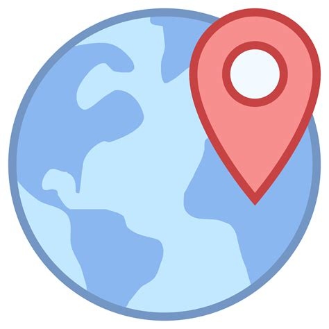 web locations worldwide location icon free at icons8