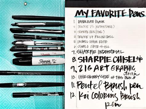 best pens for writing the best writing pens shutterbean