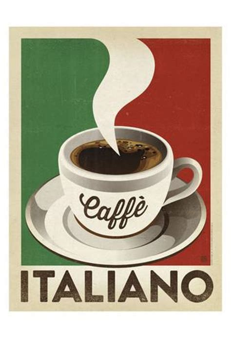 cafe ita cafe italiano poster by design at