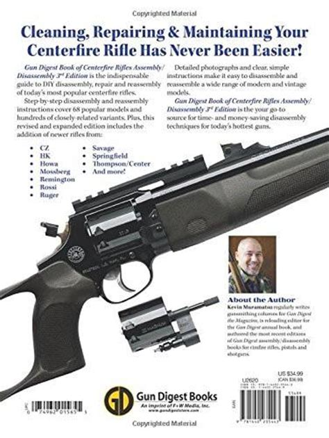 gun digest book of centerfire rifles assembly disassembly books quot the gun digest book of centerfire rifles assembly