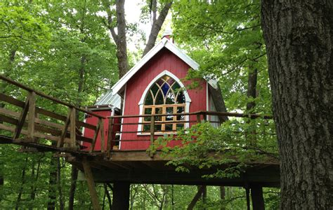 Mohican State Park Cabin Rentals by Not Just For 4 Tree Houses To Stay In Near State