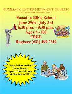 vbs flyer template vbs 2014