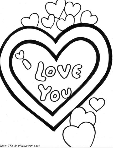 Coloring Pages That Say I Love You Coloring Home Coloring Pages I You
