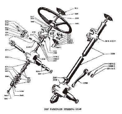 Ford Passenger V8 Steering Part