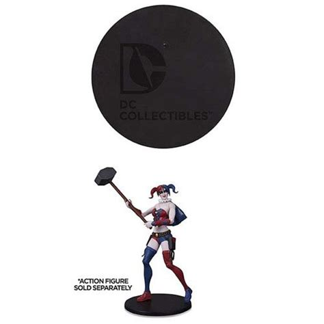 dc collectibles figure display base bag dc collectibles dc comics stands at