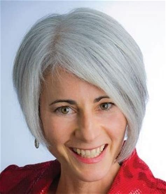silver hair jaw length pinterest the world s catalog of ideas