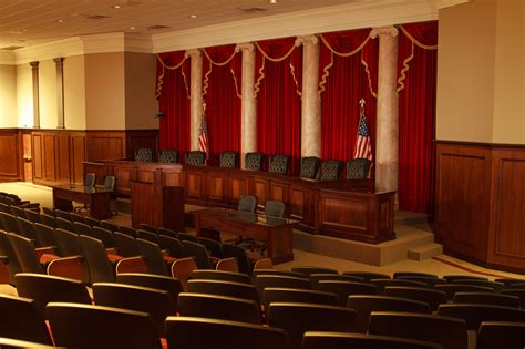 Supreme Court Room by Press Photos News Events Liberty