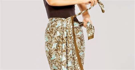 tutorial kain batik sebagai rok cara memakai kain batik galeri batik indonesia cara
