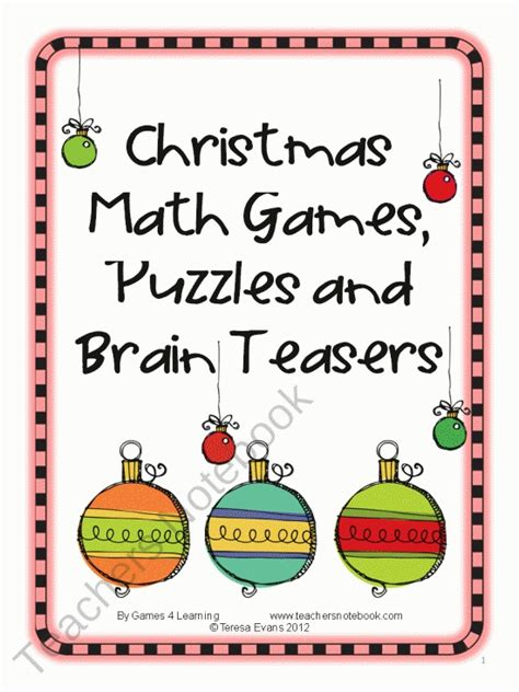 printable christmas brain teasers 1000 images about brain teasers on pinterest brain