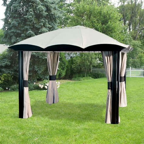 rona umbrella dip gazebo replacement canopy garden winds