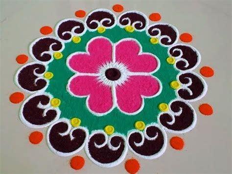 beautiful and unique multicolored rangoli design diwali best 25 easy rangoli ideas on easy rangoli