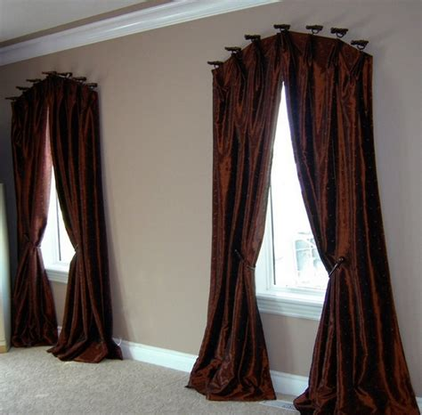 curved curtains curved curtain rods for windows traditional curved curtain