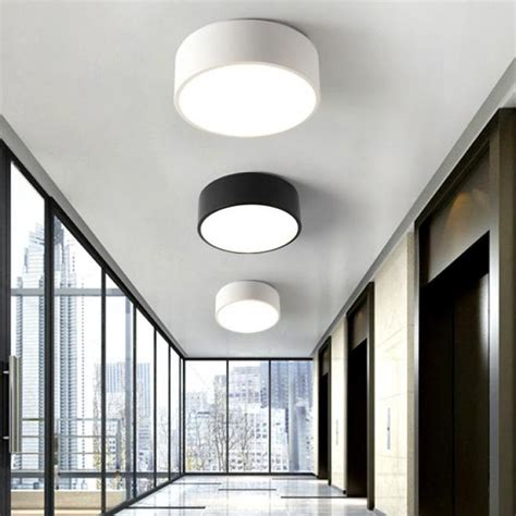 Office Ceiling Light Fixtures 2017 Balcony Mini Led Light Nordic Style Black White Porch L Home Office Small