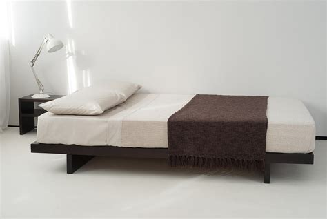 Single Platform Bed Kumo Low Wooden Beds Japanese Style Bed