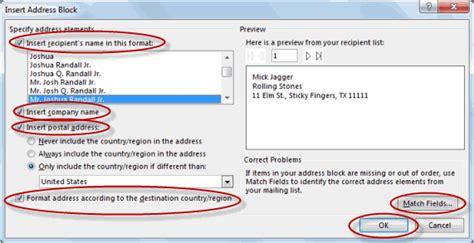 Using Mail Merge Tutorial Webucator - using mail merge tutorial webucator
