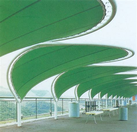 Fabric Architecture green leaf