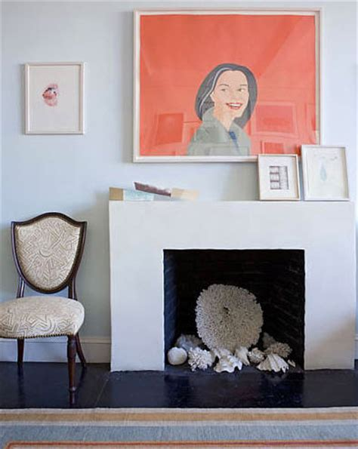delightful Decorate Non Working Fireplace #5: TIDBITS-TWINE-Seashells-in-Fireplace.jpg