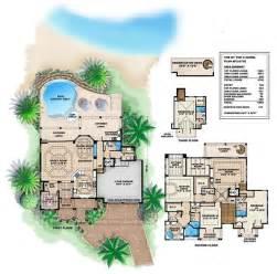 mediterranean beach house plans