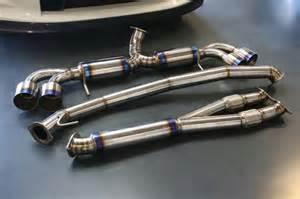 Exhaust System Gtr Exhaust Titanium Exhaust Willall Racing Nissan Gtr