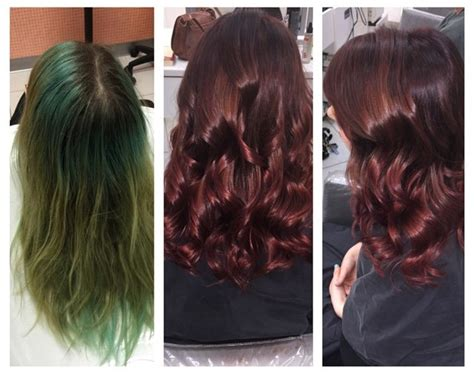 dying hair with over counter dying brown over green hair new hair style collections