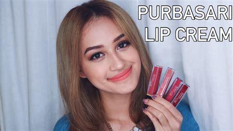 Lipstik Hi Matte Lip Purbasari purbasari hi matte lip swatch dan review nadya aqilla