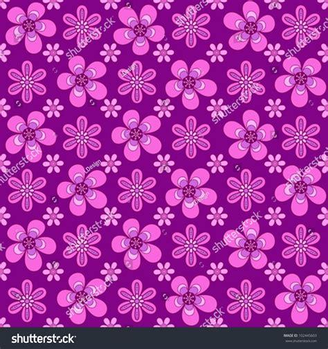 seamless pattern girly girly flower seamless pattern stock vector 102445603