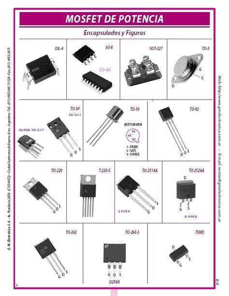 transistor mosfet de potencia datasheet mosfet de potencia ordenados por caracter 237 sticas t 233 cnicas