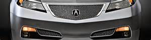Acura Tl Aftermarket Grill 2014 Acura Tl Custom Grilles Billet Mesh Led Chrome