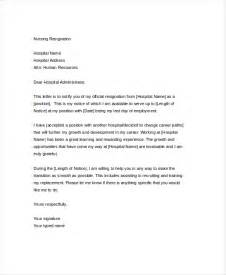 Nursing Resignation Letter by Resignation Letter 20 Free Word Pdf Documents Free Premium Templates