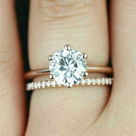 Wedding Bands To Pair With Solitaire by How To Pair Engagement Rings With Wedding Rings Cape