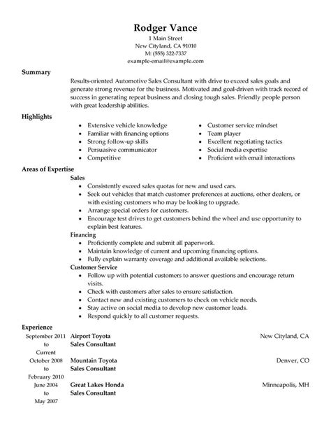 sales consultant resume samples visualcv resume samples database