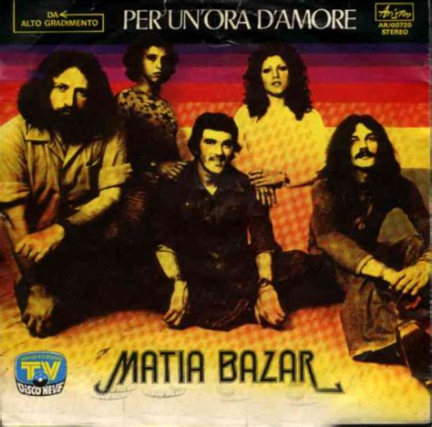 messaggio d matia bazar testo matia bazar debutto 1975 accadde nel passato