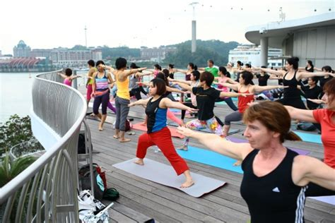 Lululemon Mat Singapore by At The Harbour Lululemon X R Evolution Cheryl Tay