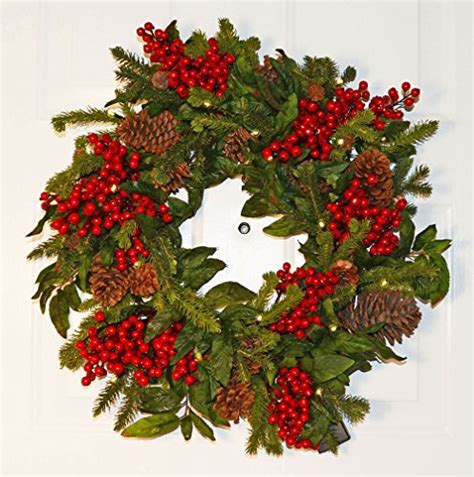 diy pre lit artificial christmas wreaths ideas christmas
