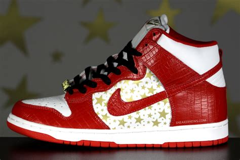 classics revisited nike dunk high supreme varsity