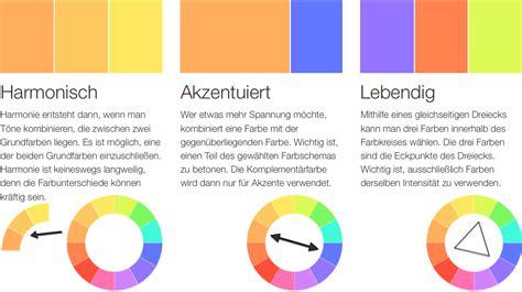 Harmonische Farben by Komplement 228 Rfarben Farben Richtig Miteinander Kombinieren