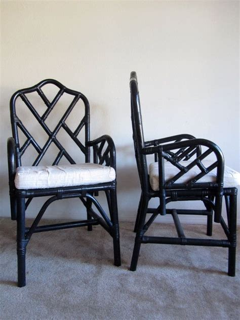 room rattan chairs rattan chairs via etsy might be good for my living room